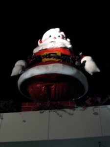 Giant Santa of doom