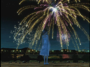 """An """"animated"""" Matsu♥Takako in """"Hana no you ni""""..."""