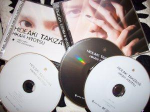 "Takizawa Hideaki ""Hikari Hitotsu"" LE jacket A & C"