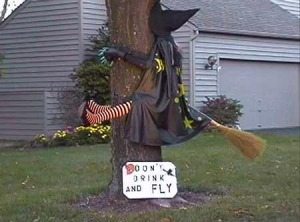 Halloween safety tip #4: Don't drink and fly!!