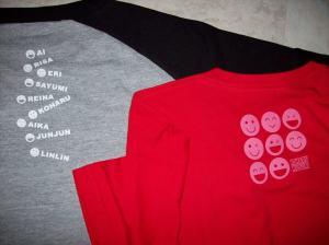 """Momusu & Koha♥chan """"9 Smile"""" concert T-shirt sets"""