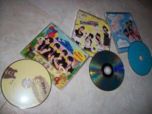 """S/mileage""""Sukichan"""" & """"aMa no Jaku""""..""""Asu wa date nano ni, imasugu koe ga kikitai"""" pv DVD singles..."""