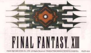 FFXIII (logo sticker)