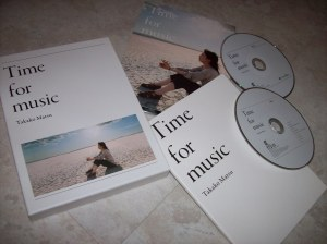 "Matsu Takako ""Time for music"" first press (blu-spec release) w/DVD"