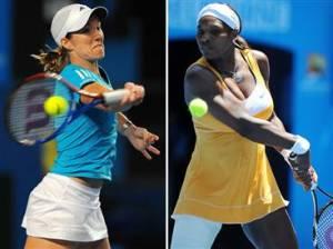 Justine Henin vs. Serena Williams Australian Open 2010