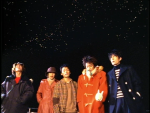 "SMAP in ""Yozora no mukou""..."