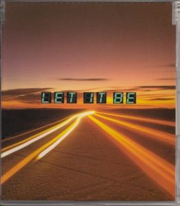 "SMAP ""LET IT BE"" single (cover scan)"