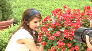 "Ishikawa Rika in ""24"" making of..."