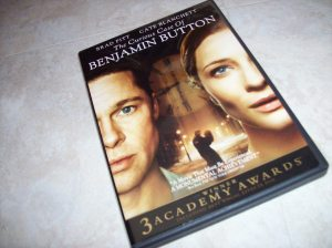 """The Curious Case of Benjamin Button"" DVD """