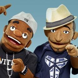 Lebron & Kobe puppets~♥