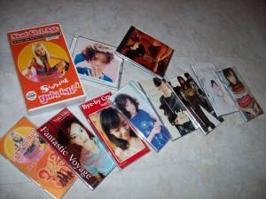 My Ishii♥Yuki collection w/ pv VHS & LUV 2 SHY debut album release...