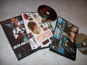 Ueto Aya live & pv DVD releases...
