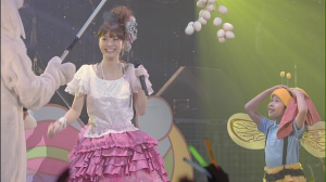 "Ueto Aya in ""Happy Magic"" (play opening)..."