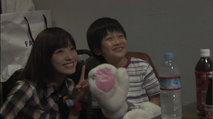 "Ueto Aya in ""Happy Magic"" live making of..."