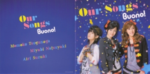 "Buono! ""Our Songs"" LE CD single (jacket cover scan)"