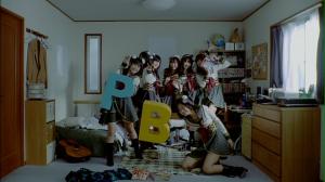 "AKB48 (Team PB) in ""Enkyori Poster""..."