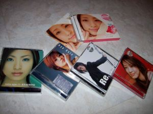 "Ueto Aya ""original"" album collection complete..."
