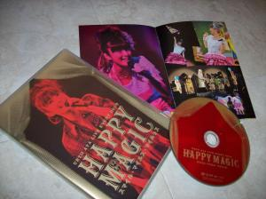"Ueto Aya ""Happy Magic"" live event DVD release~"
