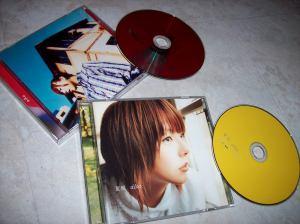 "~Two of my early aiko loves♥ including her million seller ""Sakura no ki no shita""..."