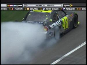Jimmie Johnson wins at Auto Club Speedway~*!!!!
