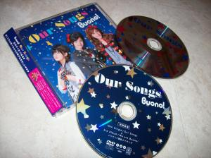 "Buono! ""Our Songs"" LE CD single w/DVD release..."