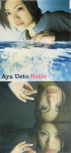 "Ueto Aya ""Hello"" single (cover scan)"