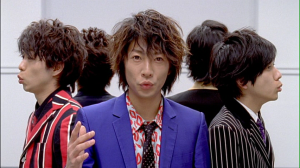 "Aiba~♥ in ""Troublemaker"" (...kissu expression)"