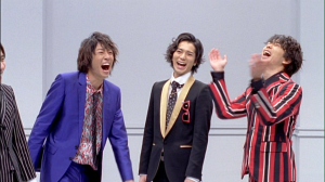"ARASHI♥ in ""Troublemaker"" they're always so much fun together。。。(。ーωー。)笑"