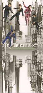 "ARASHI♥ ""Troublemaker"" RE single (jacket scan)"
