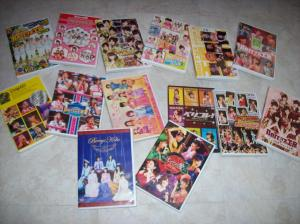 Berryz工房 concert, pv collection & misc. DVDs