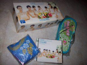 """Berryz Koubou """"Natsu Natsu Mini Berryz"""" box set..."""