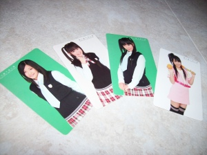 "Watariouka Hashiritai ""Akkanbe bashi"" photo cards..."