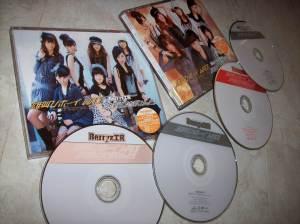 """Berryz Koubou """"Otakebi Boy Wao!"""" /""""Tomodachi wa tomodachi nanda!"""" LE Types A & B releases"""