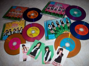 "Watarirouka Hashiritai ""Akkanbe Bashi"" LE Types A, B, C & pv DVD singlereleases~* w/ photo cards..."