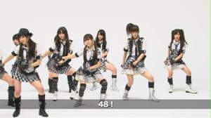 "AKB48 ""RIVER"" Kamikyoku Tachi (Right camera version)..."