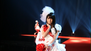Sayu♥ on the cat~walk...!