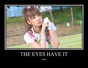 Yuukorin Golf (Nike poster type A♥ :P)