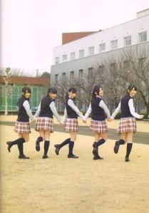 "Watarirouka Hashiritai ""Akkanbe"" shashinshuu (actual back cover scan)"