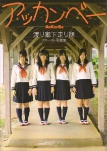 "Watarirouka Hashiritai ""Akkanbe"" (dust jacket front scan)"