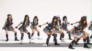 "AKB48 ""RIVER"" Kamikyoku Tachi (Left camera version)..."