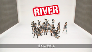 "AKB48 ""RIVER"" Kamikyoku Tachi dance version..."