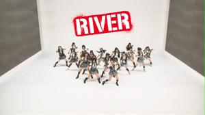 """AKB48 in """"RIVER"""" (Pizza box version (。ーωー。)笑!)"""