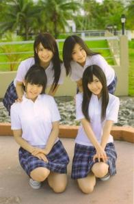 "Watarirouka Hashiritai ""Akkanbe"" (dust jacket back scan)"