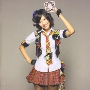"AKB48 ""Kamikyoku Tachi"" booklet (scan7)"