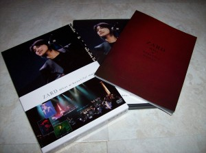 Zard What a beautiful moment DVD~