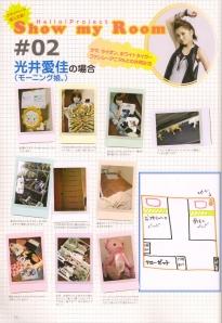 A peek inside Mitsui Aika's bedroom♥