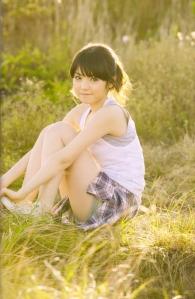 "Michishige Sayumi in ""La"" (Scan0048)"