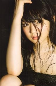 "Michishige Sayumi in ""La"" (Scan0068)"