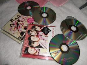 """C-ute """"Campus Life~umarete kite yokatta~"""" LE types A & B w/ DVDs..."""