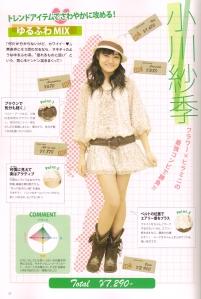Sakichan's♥ budgeted fashion sense~*
